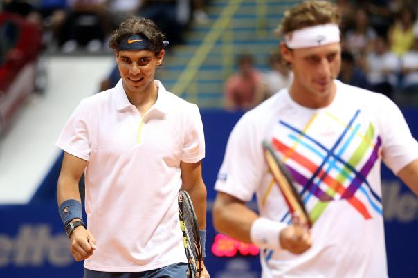 Nadal and Nalbandian